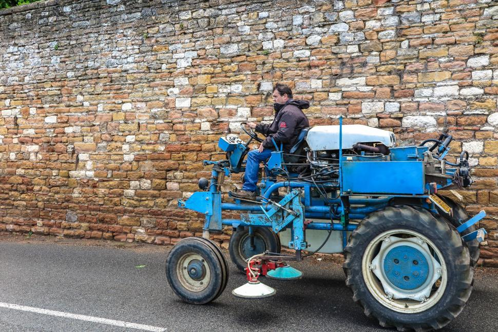 Download Free Stock HD Photo of Tractor and driver Online