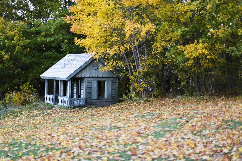 Download Free Stock HD Photo of Autumn cottage Online