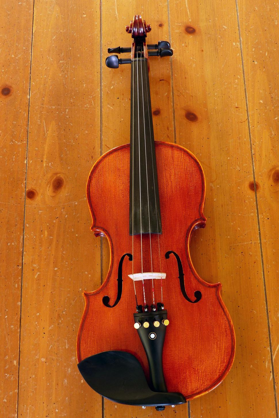 Download Free Stock HD Photo of Violin On Table Online