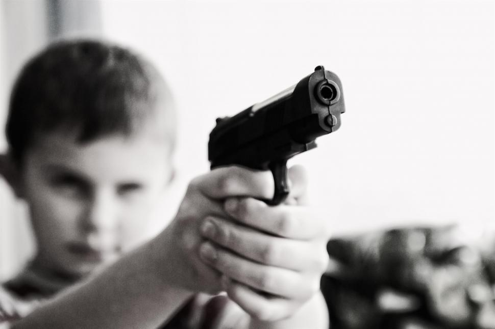 Get Free Stock Photos of Child with a gun Online | Download