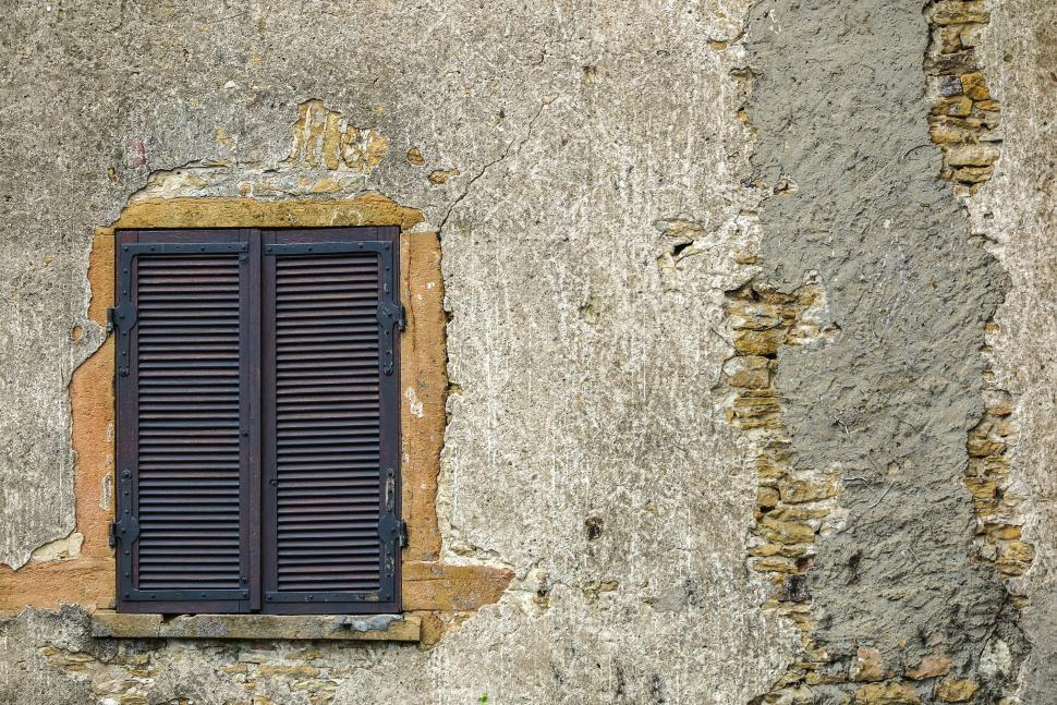 Download Free Stock HD Photo of Shutters in a wall Online