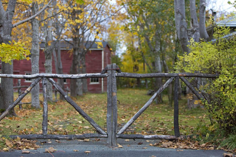 Download Free Stock HD Photo of Wooden Gate Online