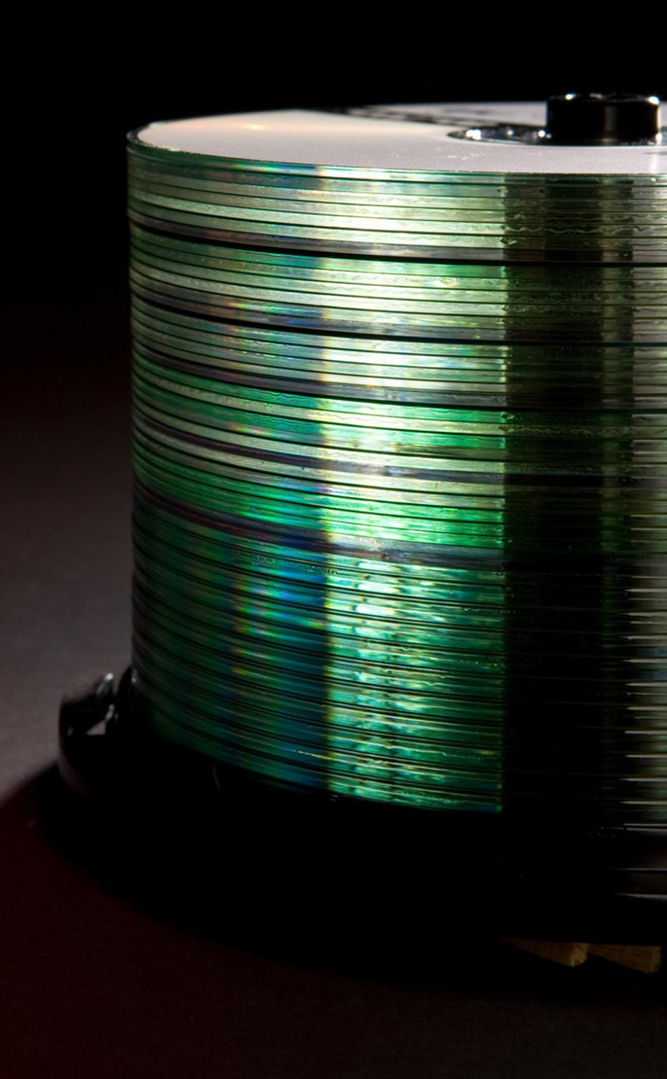 Download Free Stock HD Photo of CD Stacks Online