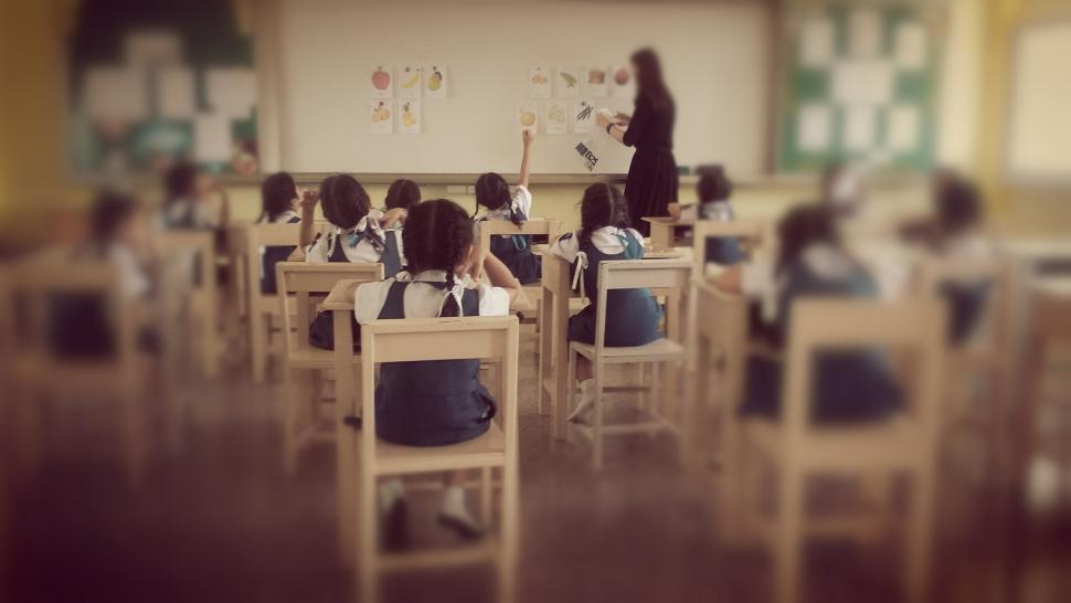 Download Free Stock HD Photo of Primary School Classroom  Online