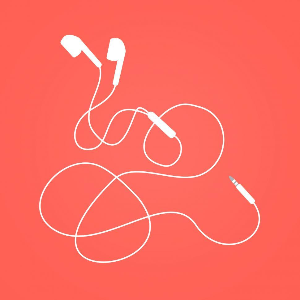 Download Free Stock HD Photo of Earphones - Earbuds Isolated Online