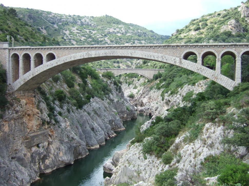 Download Free Stock HD Photo of Old bridge and gorges Online