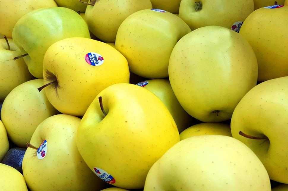 Download Free Stock HD Photo of Golden Delicious Apples Online