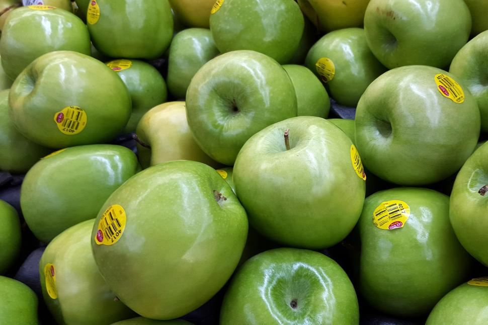 Download Free Stock HD Photo of Granny Smith Apples Online