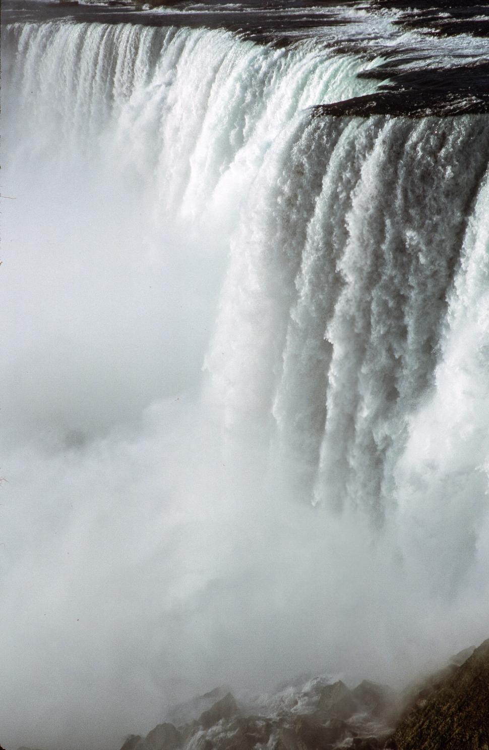 Download Free Stock HD Photo of Close View of Niagara Falls Online