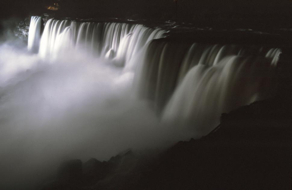 Download Free Stock HD Photo of Dark falls at Niagara Falls Online