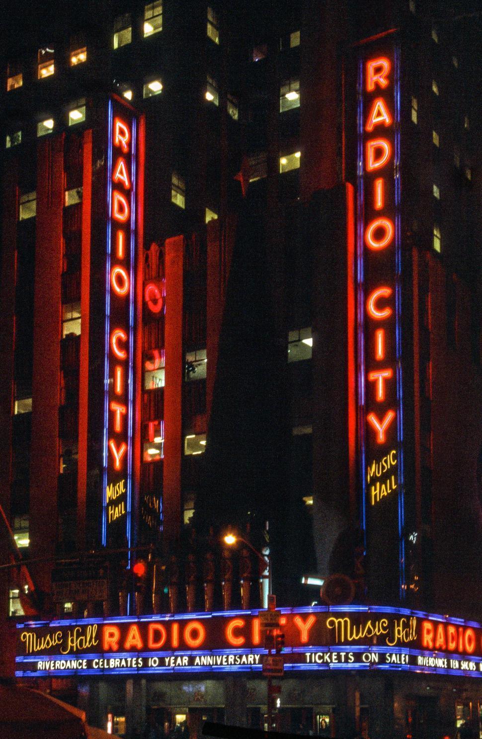 Download Free Stock HD Photo of Radio City Music Hall Online