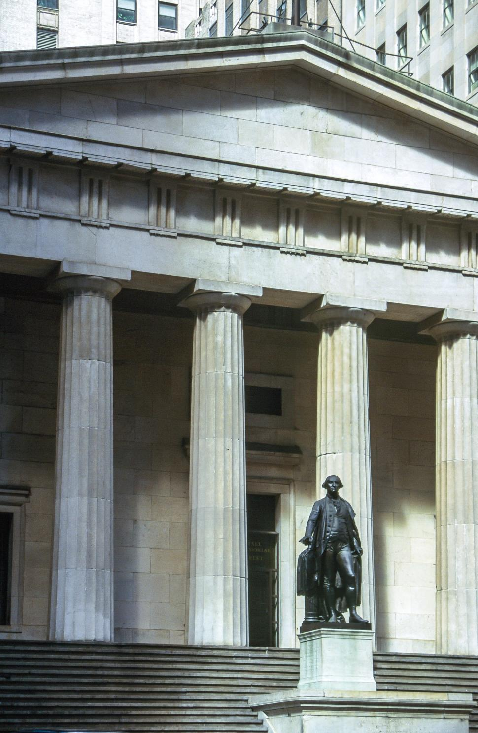 Download Free Stock HD Photo of Federal Hall Online