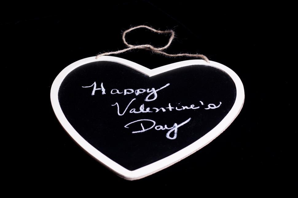 Download Free Stock HD Photo of Valentine s Day Chalkboard Online