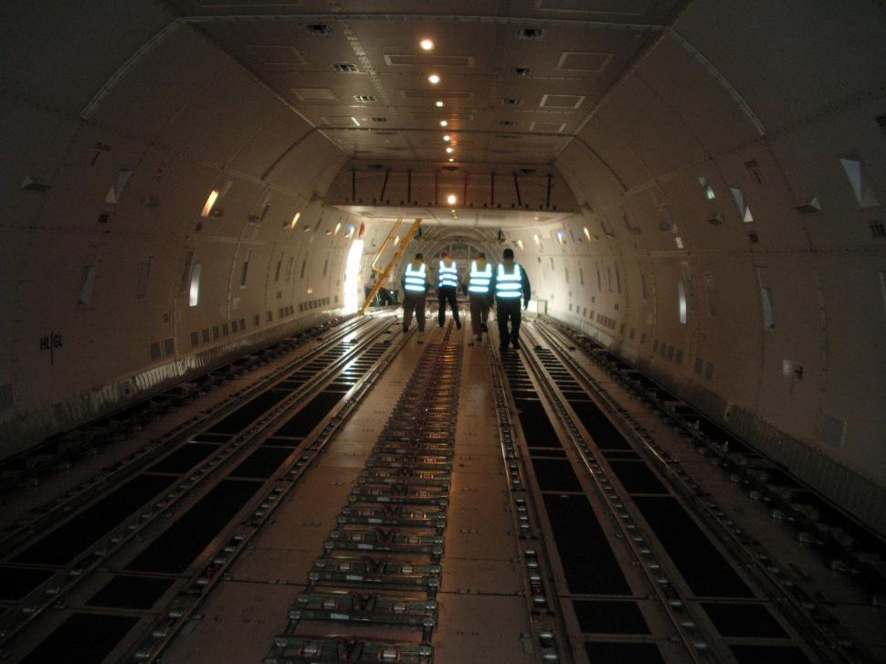 Download Free Stock HD Photo of Cargo hold plane Online