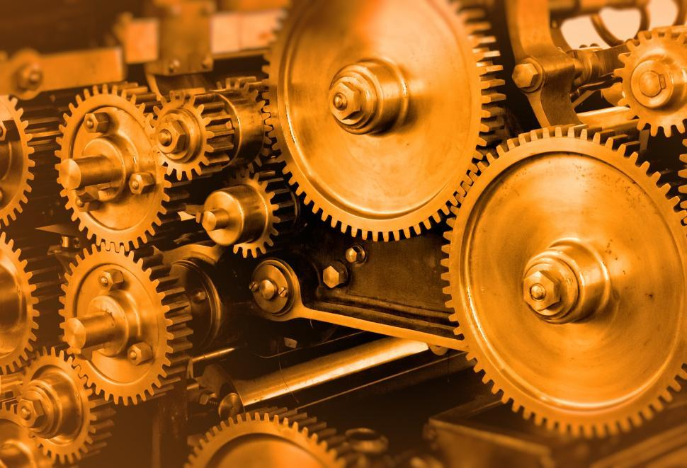 Download Free Stock HD Photo of Industrial Theme - Heavy Gears Online