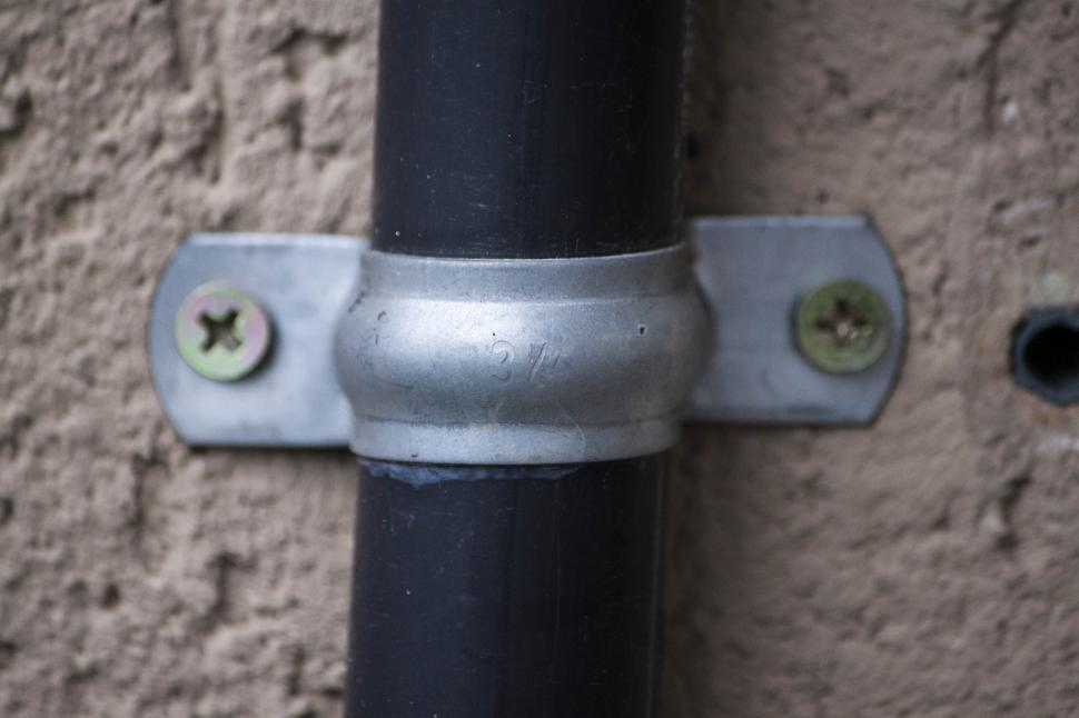 Download Free Stock HD Photo of Exterior tube with bracket Online
