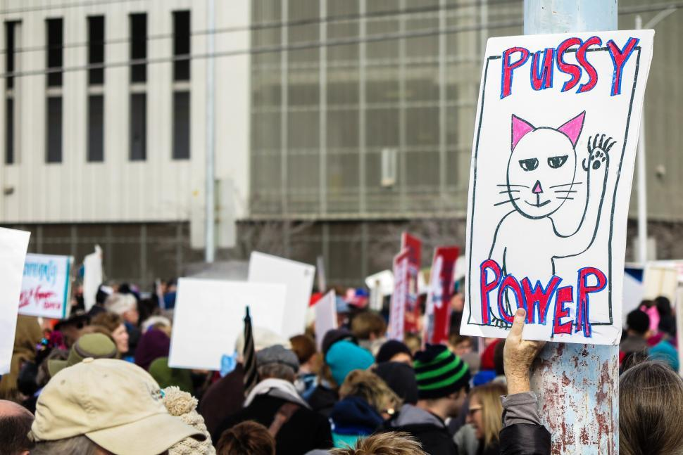 Download Free Stock HD Photo of Women s rights rally Online