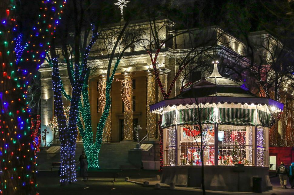 2021 Christmas Square Lighting Prescott Az Free Stock Photo Of Public Courthouse Lights Download Free Images And Free Illustrations