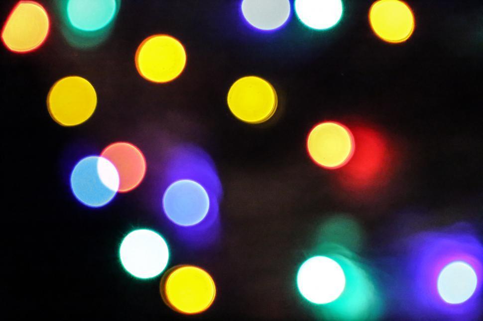 Download Free Stock HD Photo of Defocused lights Online