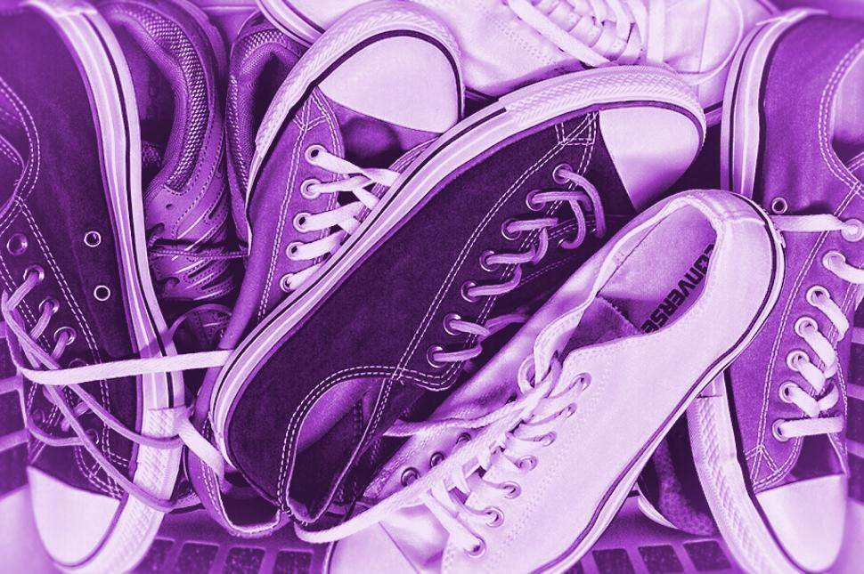 Download Free Stock HD Photo of Colorized Sneakers - Old Sneakers Online