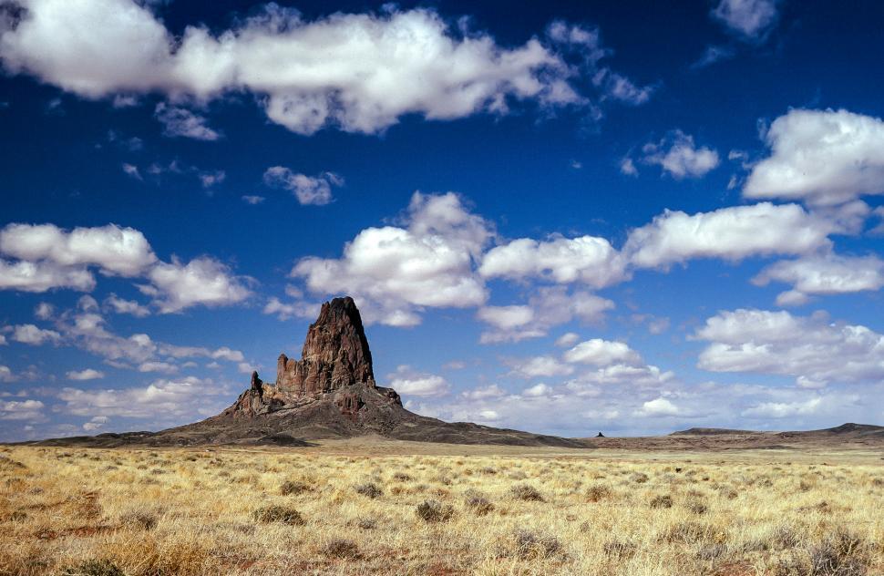 Download Free Stock HD Photo of Agathla Peak Online