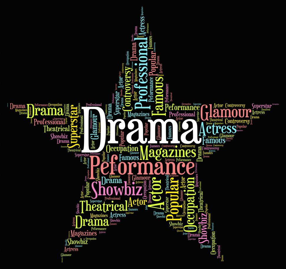 Download Free Stock HD Photo of Drama Star Represents Stage Theaters And Melodramas Online