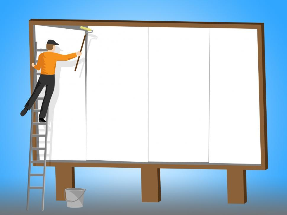 Download Free Stock HD Photo of Copyspace Billboard Represents Banner Promotional And Advertisem Online