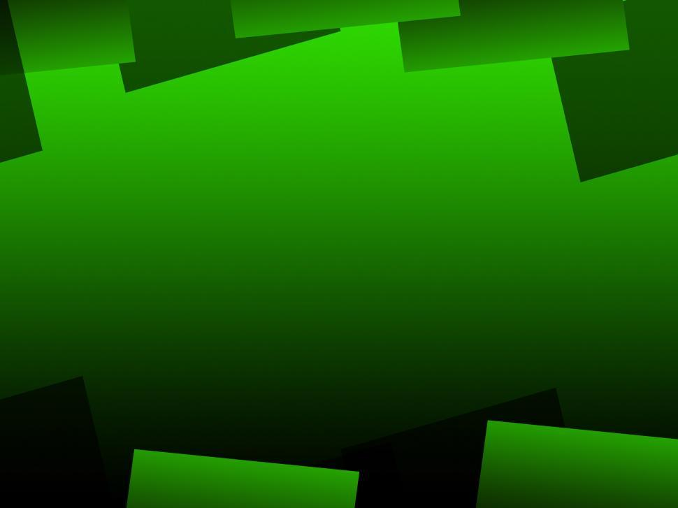 Download Free Stock HD Photo of Green Geometric Background Means Digital Art Pattern Online