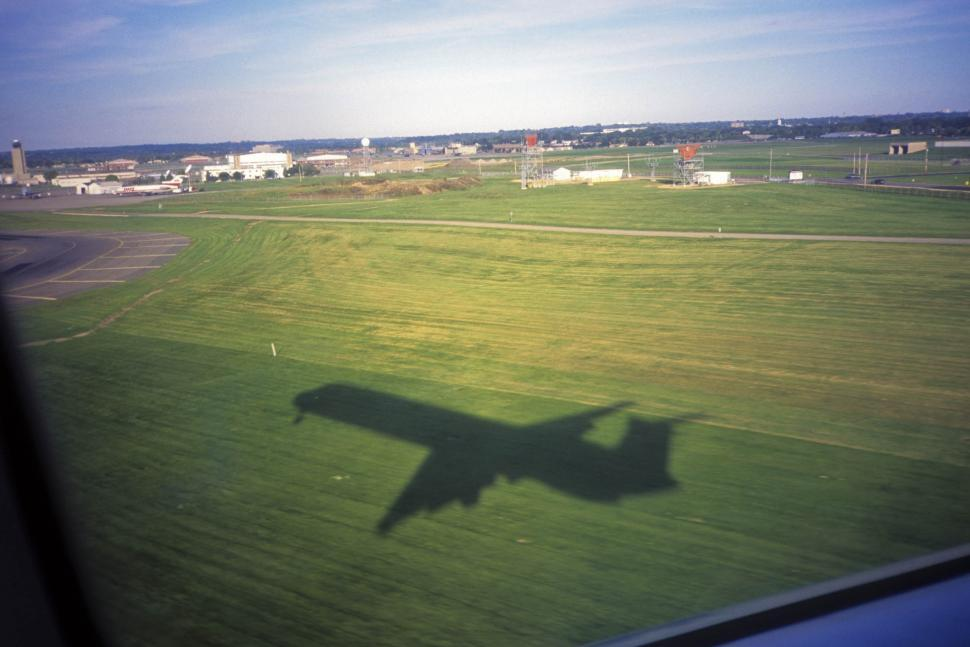 Download Free Stock HD Photo of plane shadow Online