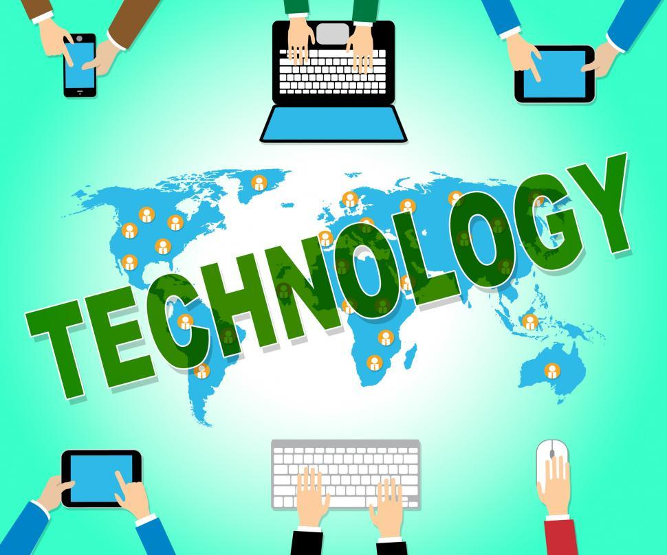 Download Free Stock HD Photo of Technology Online Means Web Site And Electronics Online