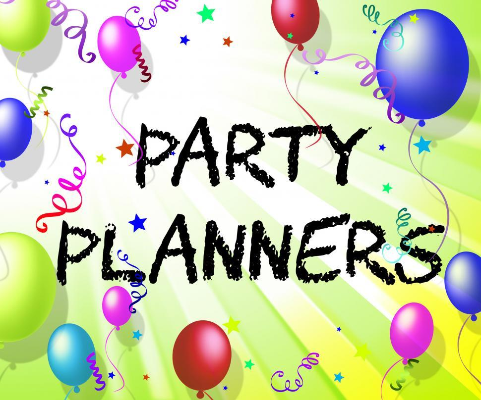 Download Free Stock HD Photo of Party Planners Means Celebration Celebrations And Decoration Online