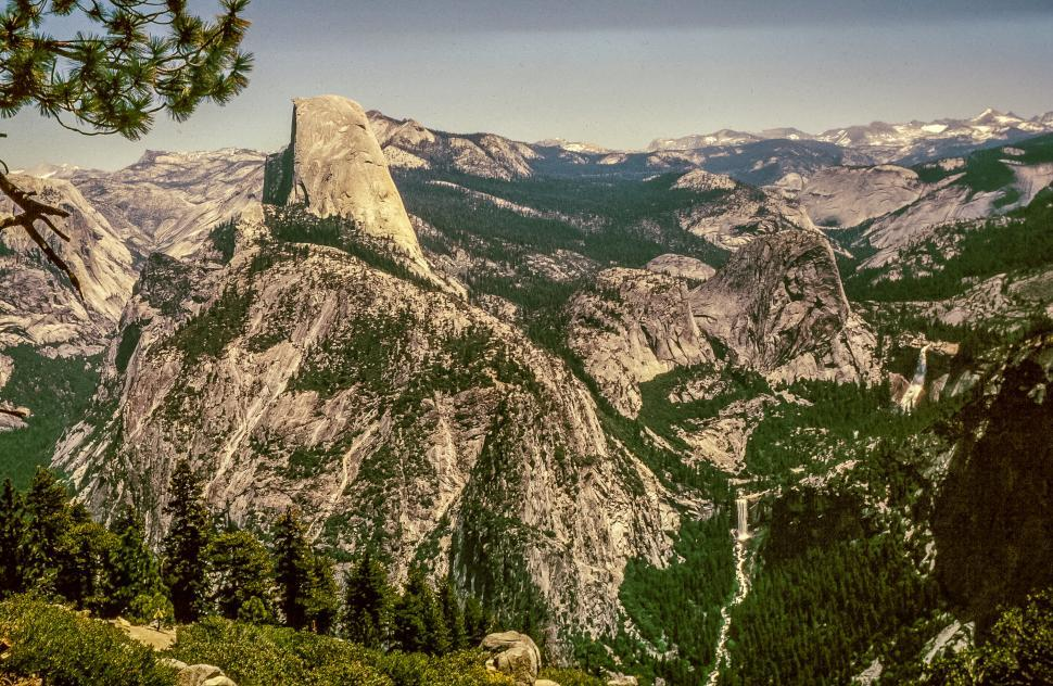 Download Free Stock HD Photo of Half Dome in Yosemite National Park, California Online