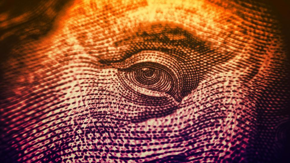 Download Free Stock HD Photo of Eyes on The Dollar - Money and Finance - Colorized Online