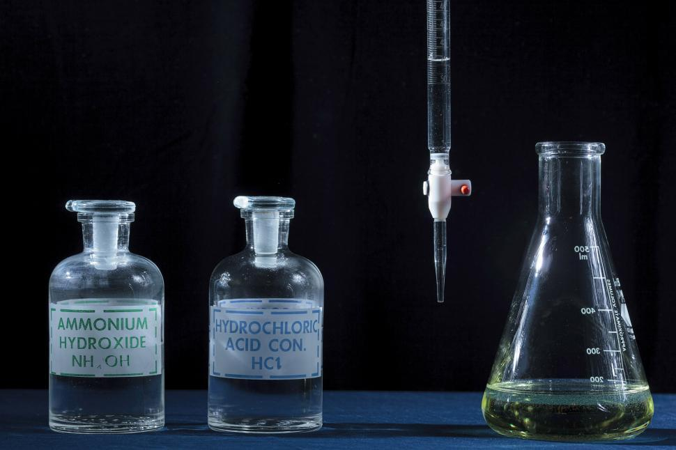 Download Free Stock HD Photo of Acid base titration. Online