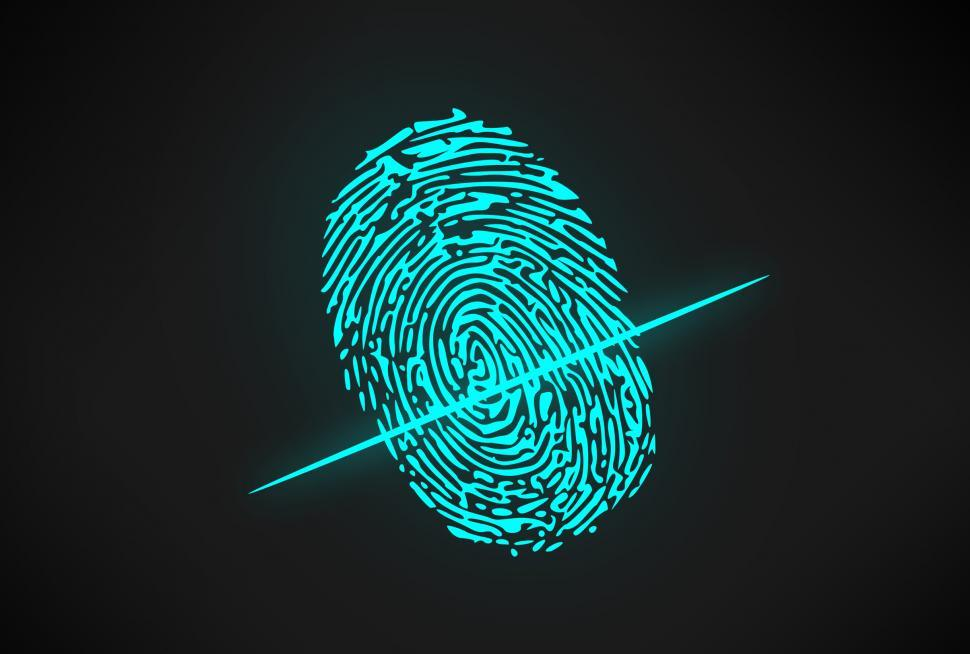 Download Free Stock HD Photo of Biometric Authentication Software - Fingerprint Online