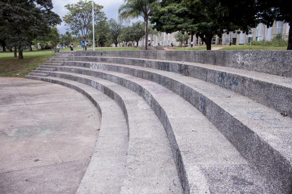 Download Free Stock HD Photo of Amphitheater seat arc Online