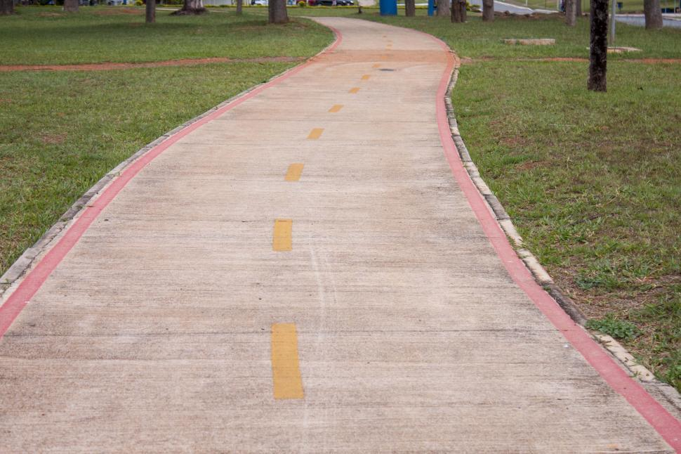 Download Free Stock HD Photo of Bike path Online