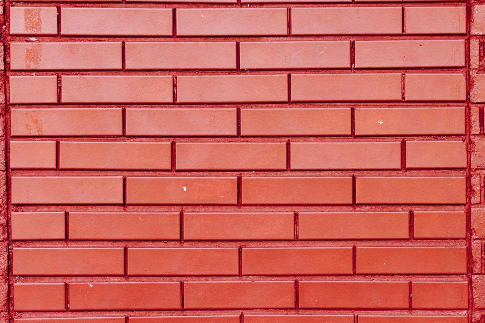 Download Free Stock Hd Photo Of Beautiful Bright Red Brick Wall Online