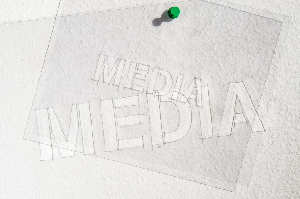 Download Free Stock HD Photo of Media Stencils hanging Online
