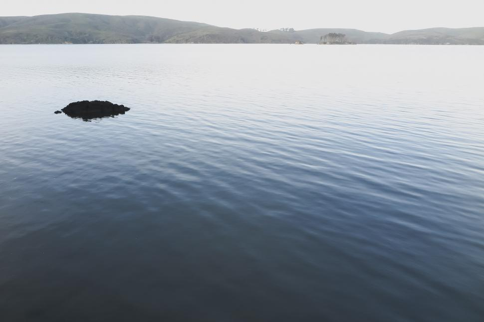 Download Free Stock HD Photo of Calm water in Tomales Bay Online