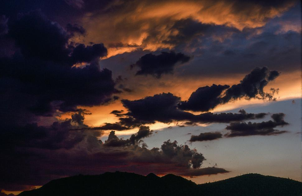 Download Free Stock HD Photo of Clouds during sunset Online