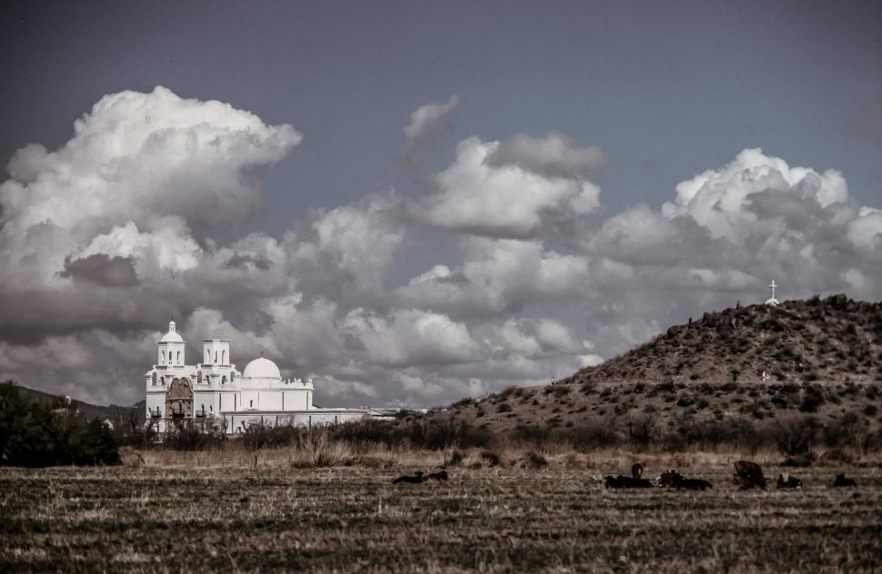 Download Free Stock HD Photo of Mission San Xavier del Bac Online