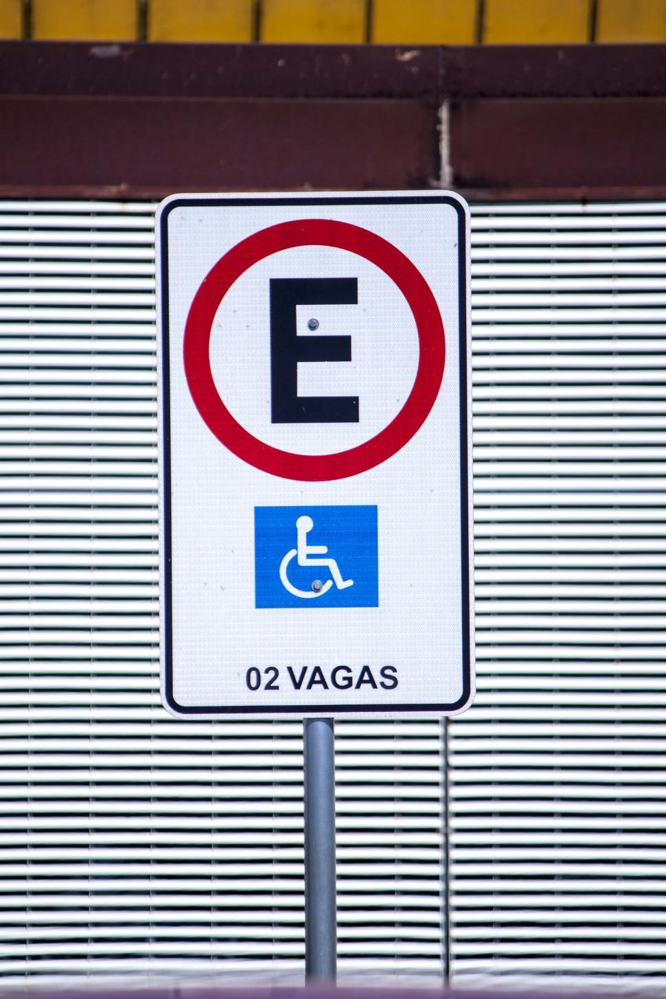 Download Free Stock HD Photo of Handicap parking only Online
