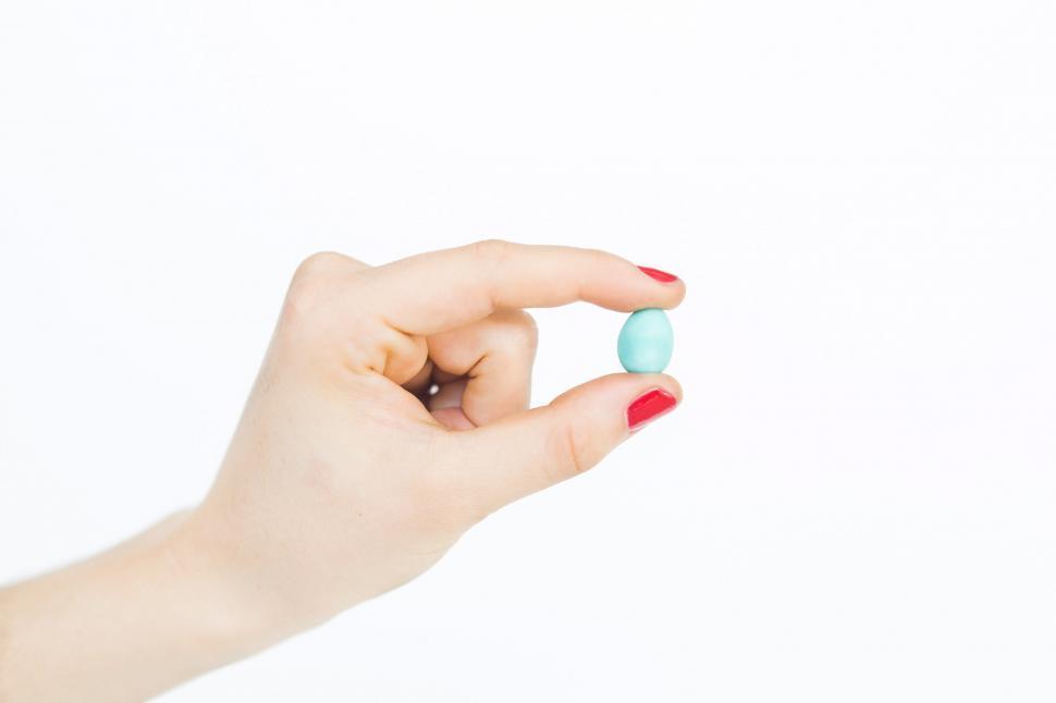 Download Free Stock HD Photo of Single Chocolate Mini Egg Online