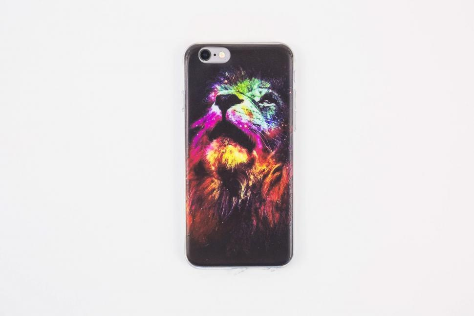 Download Free Stock HD Photo of Cool phone Case Lion Online