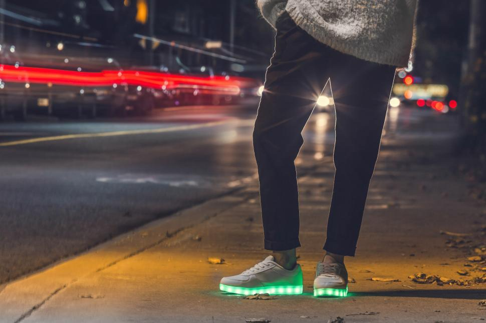 Download Free Stock HD Photo of Light Up Shoes For Adults Online