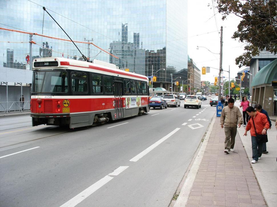Download Free Stock HD Photo of Toronto streetcar Online