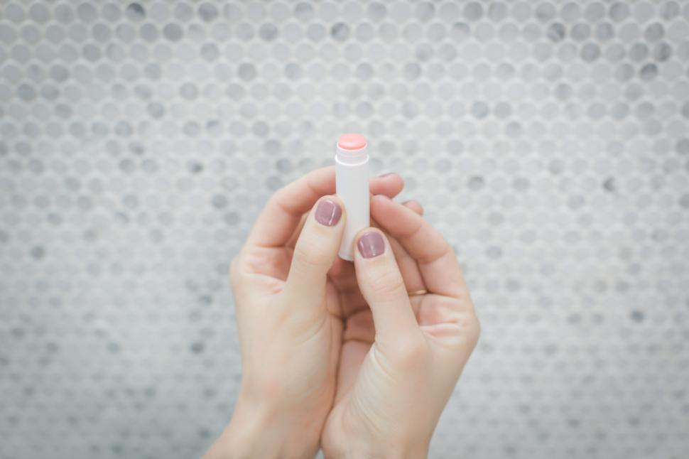 Download Free Stock HD Photo of Tube Of Chapstick Online