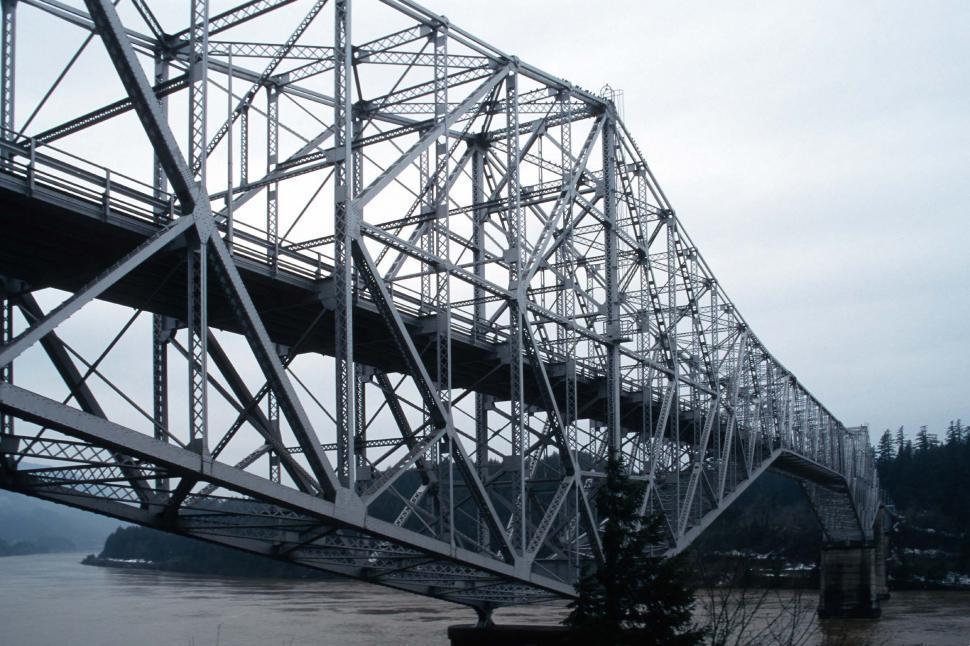 Download Free Stock HD Photo of Large steel bridge Online