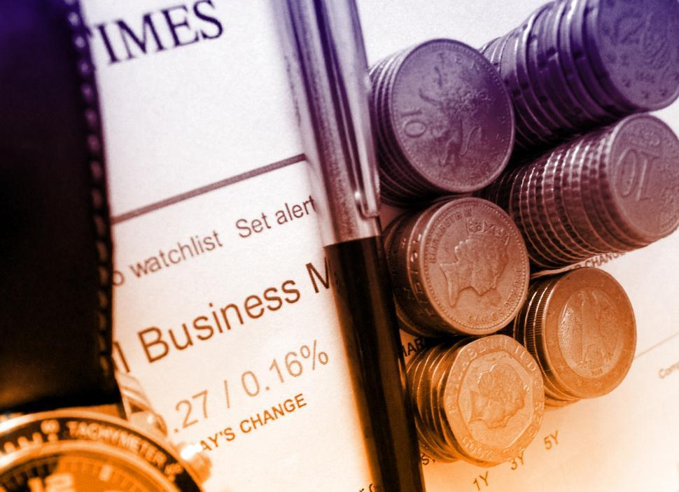 Download Free Stock HD Photo of Business and Finance - Money and Financial Newspaper Online